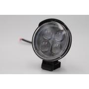 Ходовые огни MYX 12-36V 4LED 12W spotlight 3 inches 85*85 mm