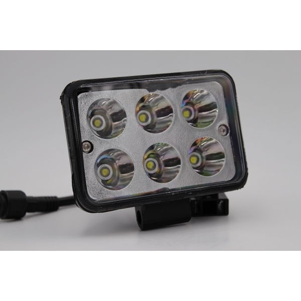 Ходовые огни MYX 12-36V 6LED 18W floodlight 3 inches 110*80 mm