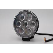 Ходовые огни MYX 12-36V 7LED 21W spotlight 4 inches 115*115 mm