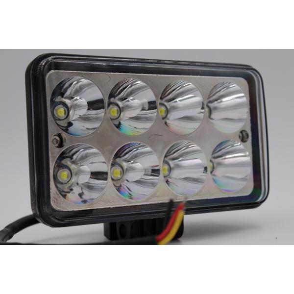 Ходовые огни MYX 12-36V 8LED 24W floodlight 4 inches 150*90 mm