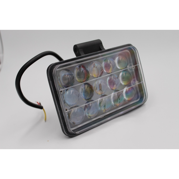 Ходовые огни MYX 12-36V 15LED 45W spotlight 5 inches 170*110 mm