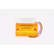 Боковой фонарь MYX A03/ 21LED 24V Yellow 130х110х23 цена за 2шт.