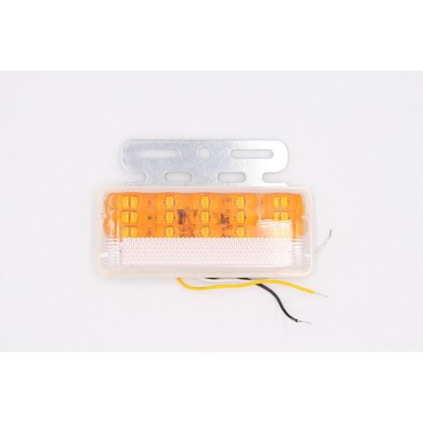 Боковой фонарь MYX A30/ 33LED 24V Yellow 130х110х23 цена за 2шт.