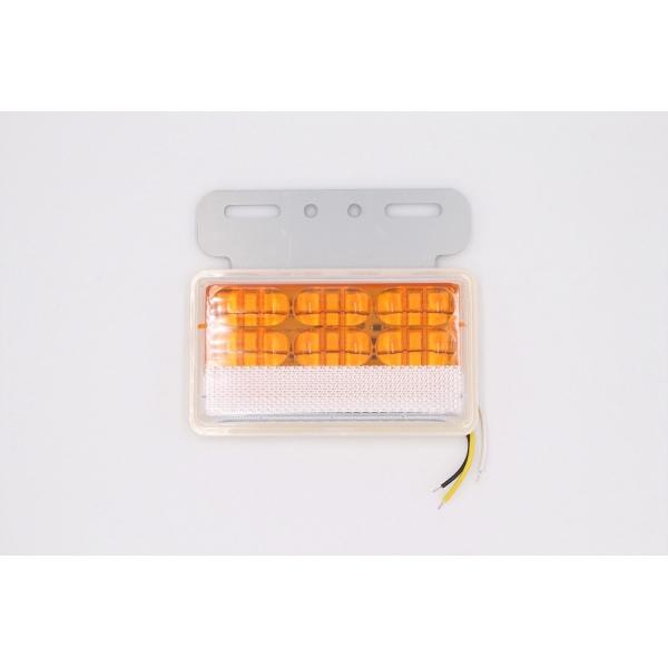 Боковой фонарь MYX A01/ 50 LED 24V Yellow 130х110х23 цена за 4шт.