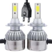 Светодиодные автолампы MYX C6 H7 12V 18W COB 6000K цена за 2шт.