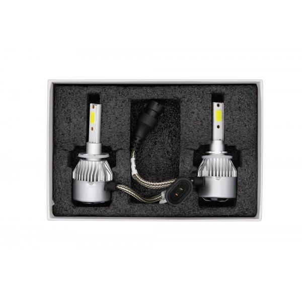 Светодиодные автолампы MYX C9 H27 12V 25W COB 6000K цена за 2шт.