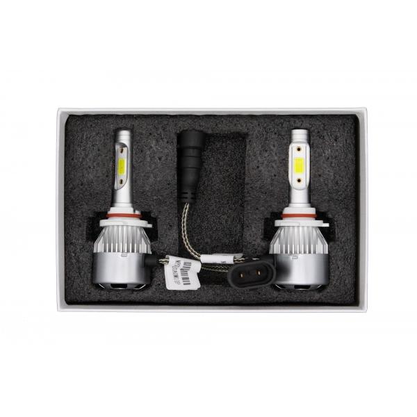 Светодиодные автолампы MYX C9 HB3 (9005) 12V 25W COB 6000K цена за 2шт.