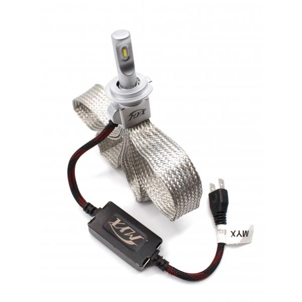 Светодиодные автолампы MYX K8 H7 12V 22W CSP 6000K цена за 2шт.