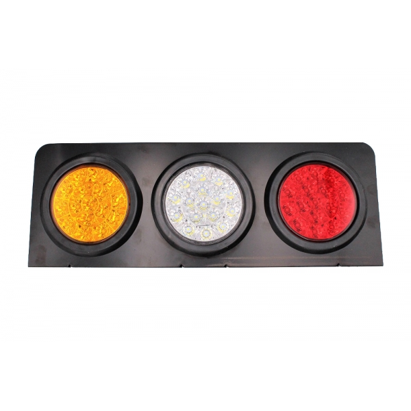 Задний фонарь MYX A18/3 24V 48W White/Yellow/Red, цена за 2шт.
