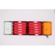 Задний фонарь MYX A21/ 24V 48W White/Yellow/Red, цена за 2шт.